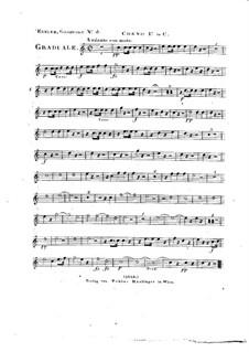 Omnes de Saba venient, HV 40: Horn I part by Joseph Eybler