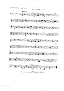 Omnes de Saba venient, HV 40: Clarinet I part by Joseph Eybler