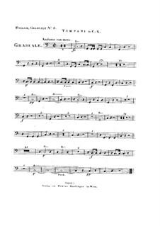 Omnes de Saba venient, HV 40: Timpani part by Joseph Eybler