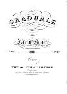 Sperate in Deo, HV 41: Full score by Joseph Eybler