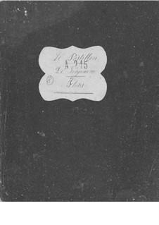 Le postillon de Lonjumeau (The Coachman of Lonjumeau): Flute I-II parts by Adolphe Adam