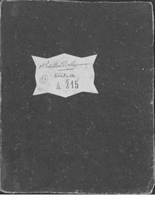 Le postillon de Lonjumeau (The Coachman of Lonjumeau): Timpani part by Adolphe Adam