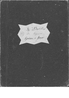 Le postillon de Lonjumeau (The Coachman of Lonjumeau): Sleigh bells and whip parts by Adolphe Adam