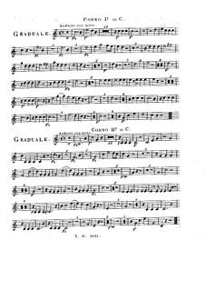 Sperate in Deo, HV 41: French horn part by Joseph Eybler
