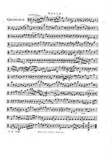 Sperate in Deo, HV 41: Viola part by Joseph Eybler