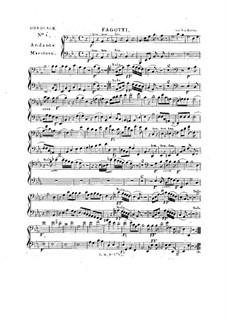 Tua est potentia, HV 50: Bassoons part by Joseph Eybler