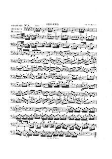 Tua est potentia, HV 50: Organ part by Joseph Eybler