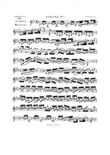 Tua est potentia, HV 50: Violin I part by Joseph Eybler