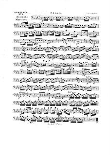 Tua est potentia, HV 50: Cello part by Joseph Eybler