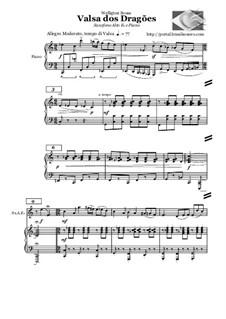 Waltz of the Dragons: Waltz of the Dragons by Welligton Sousa