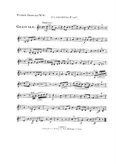 Non in multitudine, HV 56: Clarinet I part by Joseph Eybler