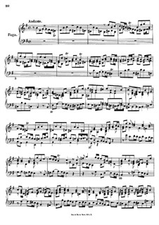 Fugue in E Minor: For a single performer by Johann Georg Albrechtsberger