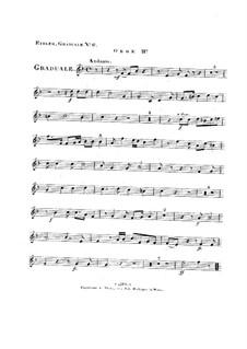 Non in multitudine, HV 56: Oboe II part by Joseph Eybler