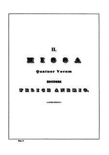 Missa Hor le tue forze adopra: Missa Hor le tue forze adopra by Felice Anerio