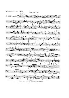 Non in multitudine, HV 56: Organ part by Joseph Eybler