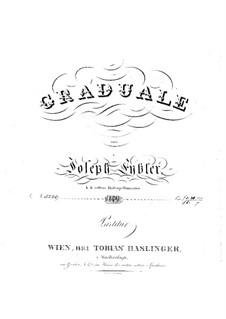 Dies sanctificatus, HV 61: Full score by Joseph Eybler