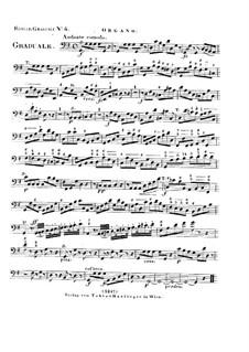 Dies sanctificatus, HV 61: Organ part by Joseph Eybler