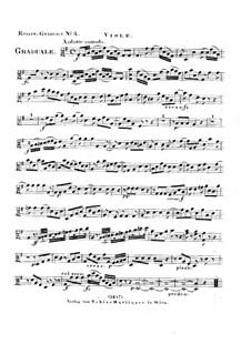 Dies sanctificatus, HV 61: Viola part by Joseph Eybler