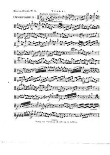 Tui sunt coeli, HV 78: Viola part by Joseph Eybler