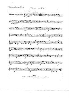 Tui sunt coeli, HV 78: Clarino I in C part by Joseph Eybler