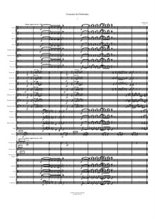 Concerto for Orchestra: Movement I by Jordan Grigg