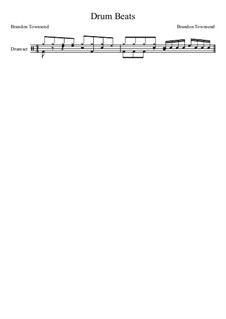 Drum Beats: Drum Beats by Brandon Townsend