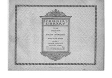 I puritani (The Puritans): Overture, for piano four hands by Vincenzo Bellini