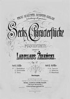 Sechs Characterstücke, Op.17: Nr.1-3 by Władysław Żeleński