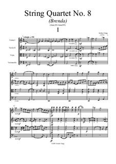 String Quartet No.8: String Quartet No.8 by Jordan Grigg