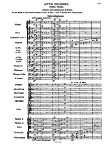 Complete Opera: Act II by Vincenzo Bellini