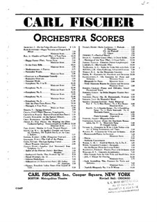 Overture: Full score by Vincenzo Bellini