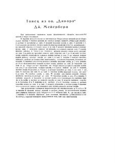 Dinorah (The Pardon of Ploërmel): Dance  by Giacomo Meyerbeer