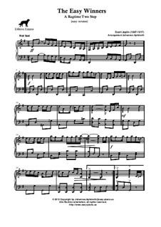 The Easy Winners: Very easy version by Scott Joplin