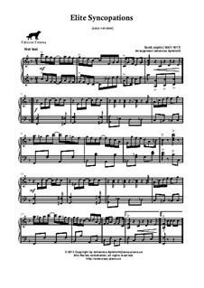 Elite Syncopations: Very easy version by Scott Joplin