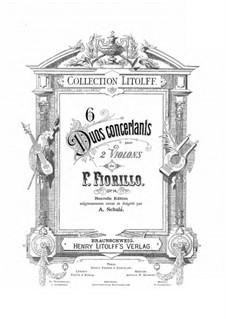 Six Duos Concertants, Op.14: Six Duos Concertants by Federigo Fiorillo
