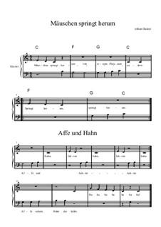 Klavierstücke for Beginners, BRWV 16: Klavierstücke for Beginners by Robert J. Beirer