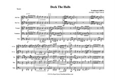 Deck The Halls: For wind quintet by Unknown (works before 1850)