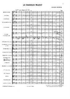 Le Chasseur maudit (The Accursed Huntsman): Score by César Franck