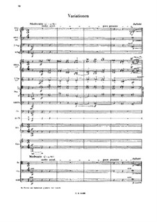 Lulu Suite: Teil IV. Variationen by Alban Berg