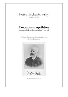 Fragments: Act II, No.17 Panorama, for organ by Pyotr Tchaikovsky