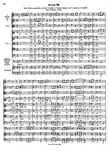 Costanza e fortezza, K.315: Act I, scenes VII-XIII by Johann Fux