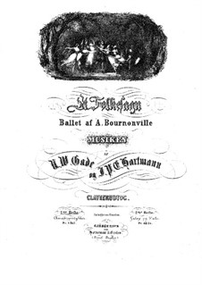 Et Folkesagn (A Folk Tale): Fragments by Niels Wilhelm Gade, Johan Peter Emilius Hartmann