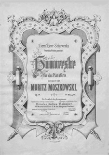 Humoresque, Op.14: For a single performer by Moritz Moszkowski