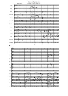 Classical Symphony: Movement II by Thomas Penders