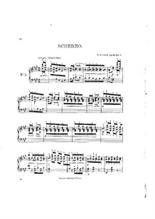 Aquarelles, Op.19: No.10 Scherzo by Niels Wilhelm Gade