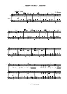 La spagnola (The Spanish Dancer): For voice and piano by Vincenzo di Chiara