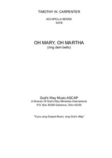 Oh Mary, Oh Martha: Oh Mary, Oh Martha by folklore