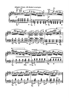 Polonaise Brilliant, J.268 Op.72: For piano by Carl Maria von Weber