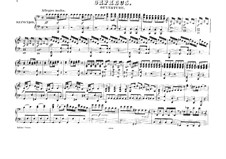 Overture: For piano four hands by Christoph Willibald Gluck