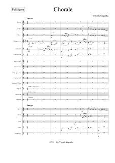 Chorale: Chorale by Voytek Gagalka